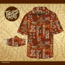 TikiLand Trading Co. Heritage Aloha Shirt - Unisex - Ships April 2021 (US shipping included)