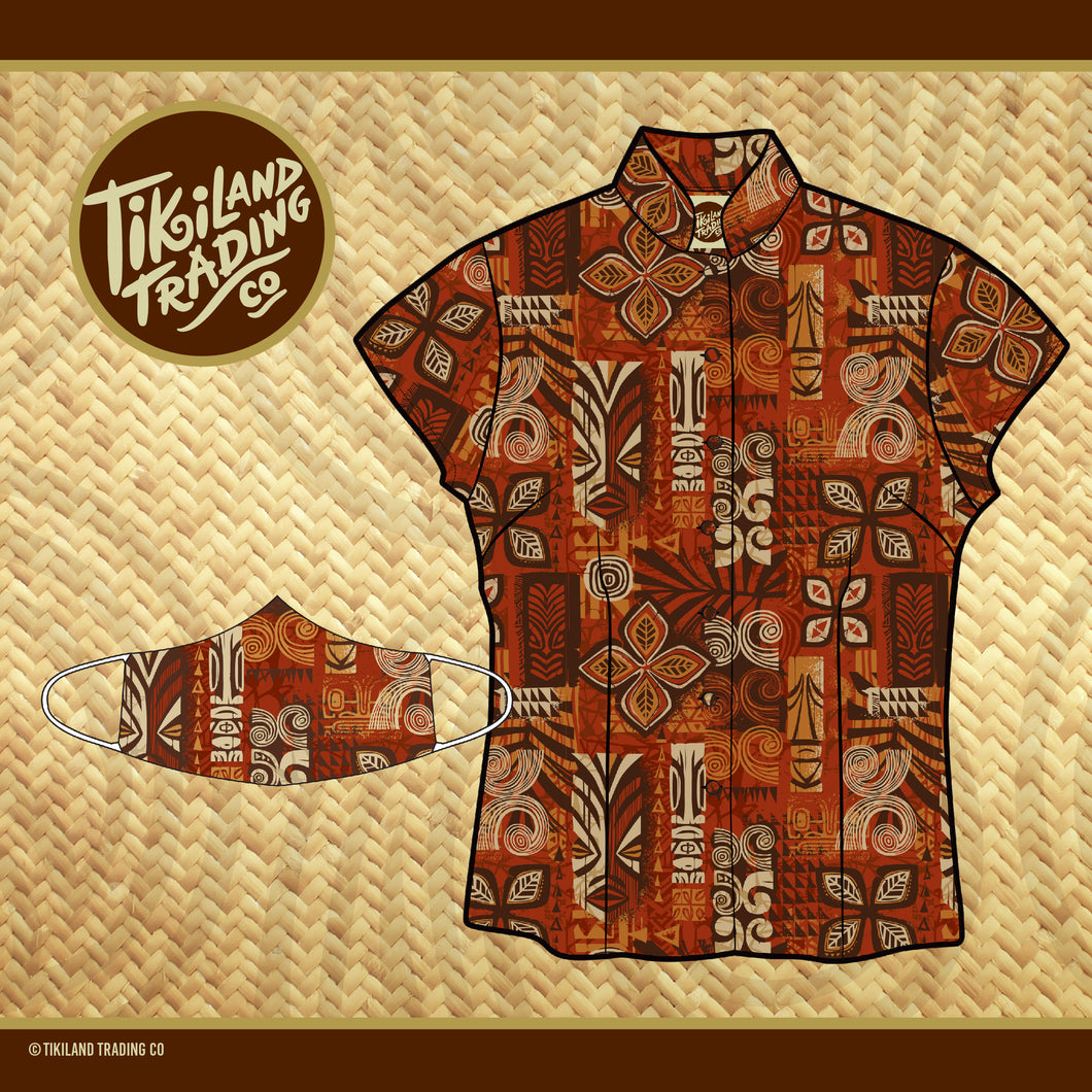 TikiLand Trading Co. Heritage Aloha Shirt - Women's - Ships April 2021 (US shipping included)