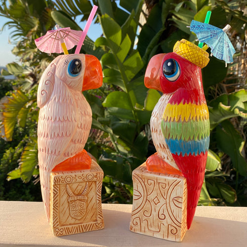 Tiki tOny Jose & Rosita Tiki Mug Pre-Sale - Set or Individual - Shipping starts late Dec2020 (US shipping included)