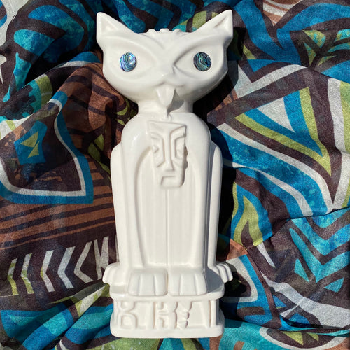 Jeff Granito's Hiwa Sheba 'Māori Meow' Signed Limited Edition Tiki Mug  - includes US shipping