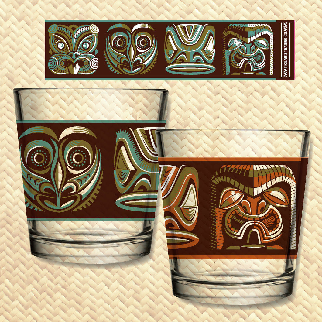 Tikiland Trading Co. 'Expressions of the South Pacific' - Mai Tai Glasses Set (2) - Ships June 2021
