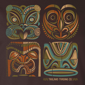 Tikiland Trading Co. 'Expressions of the South Pacific' - Unisex Tee Shirt - Ships June 2021