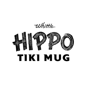 'Whittle Hippo' Tiki Mug Pre-Sale, by Jeremy Spears of Whittle Woodshop - Ships Early2021*  (US shipping included)