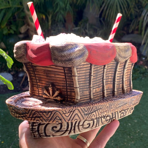 Tiki tOny's Skipper's Bote Tiki Mug Pre-Sale, ships early 2021* (US shipping included)