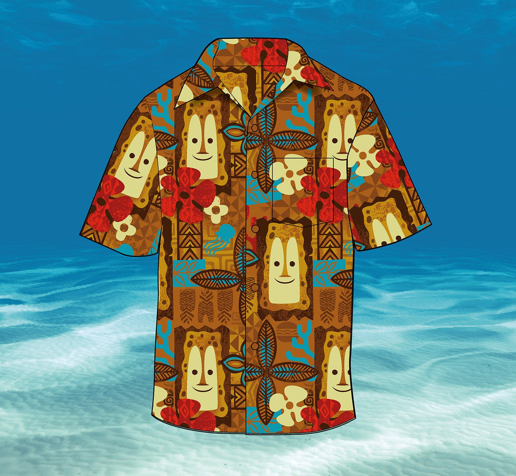 Jeff Granito Ltd Edtn Tiki Bob Under The Sea Aloha Shirt - Unisex - Pre-Order (US Shipping Included)
