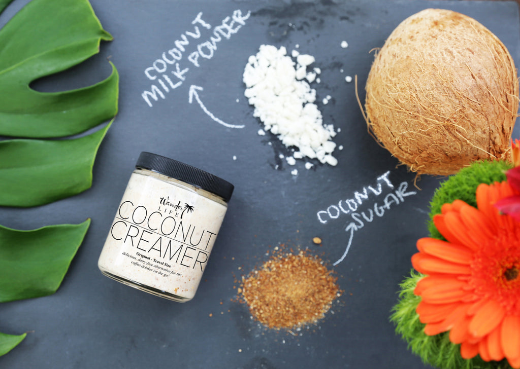 Introducing : Wander Life Coconut Creamer!