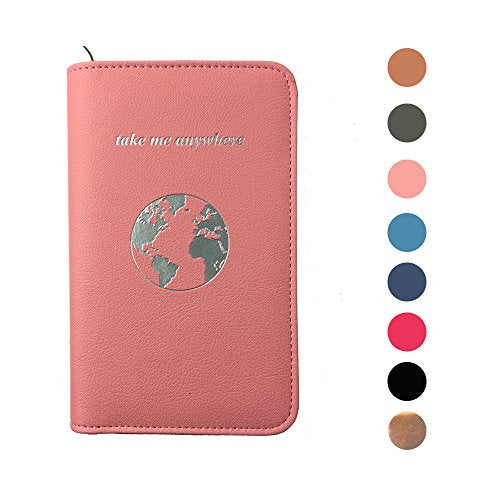 Passport Holder with RFID blocker and Power Bank