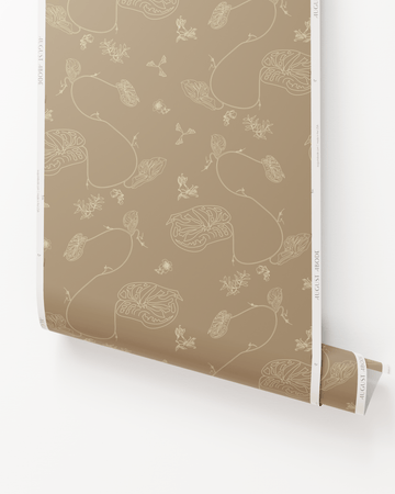 Anthurium Waltz Wallpaper in Nomad
