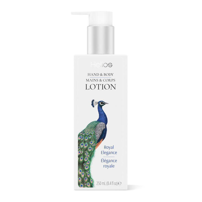 HELIOS PEACOCK HAND & BODY LOTION