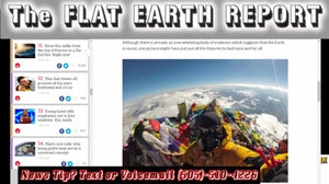 "The FLAT EARTH REPORT 4.12.3AG ""MOUNT EVEREST SELFIE PROVES FISH EYE LENS BENDS HORIZON"""
