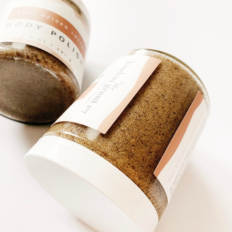 Chai Spiced Latte Body Polish - London Grant