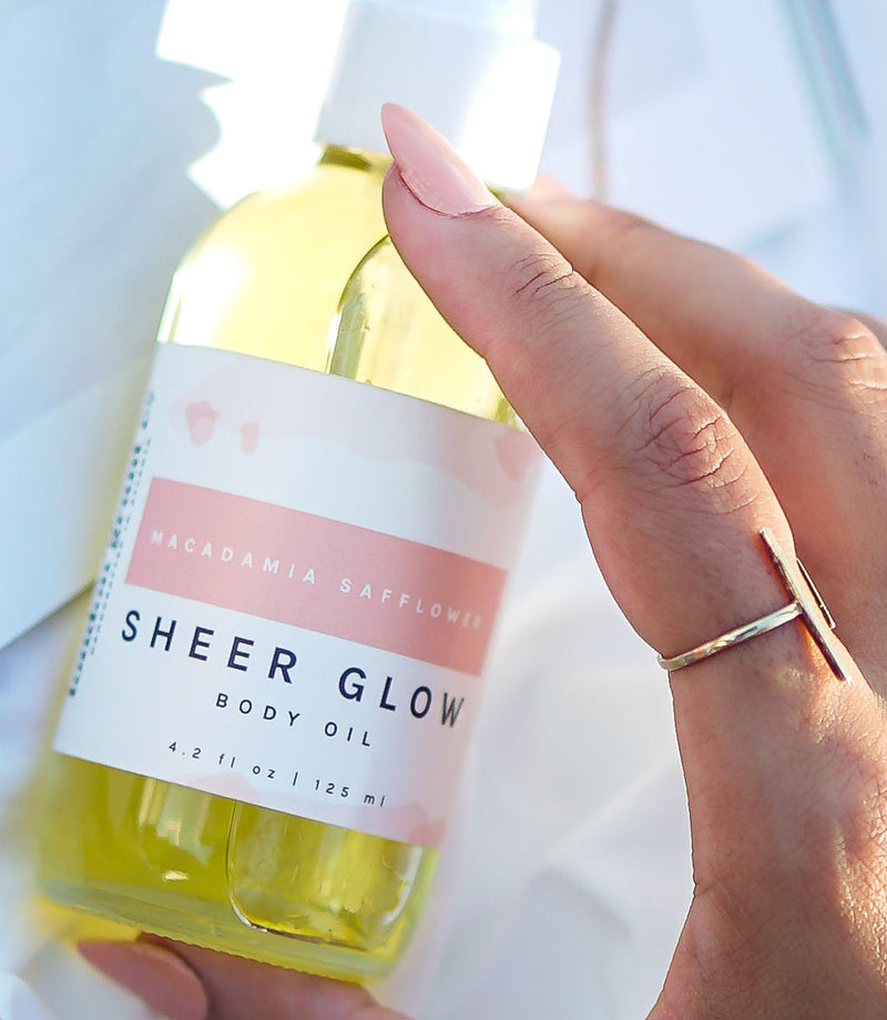 Macadamia Safflower • Sheer Glow Body Oil - London Grant