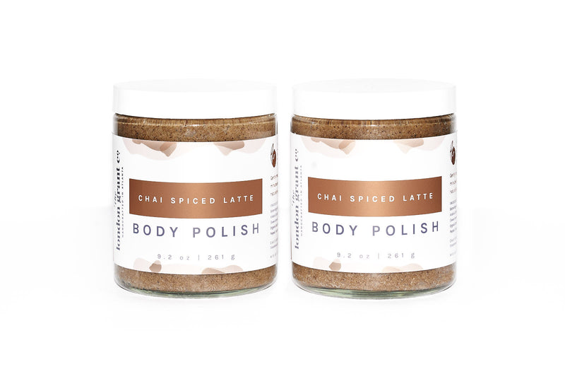 Chai Spiced Latte Body Polish London Grant Co Handcrafted in Atlanta Espresso and Chai Body Scrub