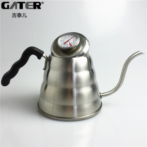 1200ML GOOSE KETTLE WITH THERMOMETER