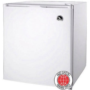 1.6 Cubic Foot, Compressor Cooling Refrigerator, (White)
