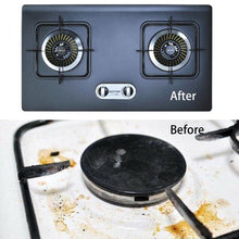 "10-Pack Gas Stove Burner Covers with FDA Approved -10.6"" x 10.6"" size, Double Thickness 0.2mm, , Safe and Easy to Clean, Heat-resistant, Cuttable,Non-Stick, Reusable Covers for gas range protection"