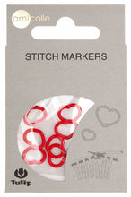 Load image into Gallery viewer, Tulip Heart Red Stitch Markers