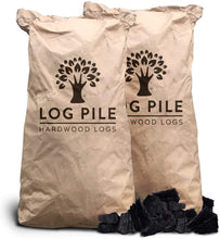 Load image into Gallery viewer, Charcoal. Restaurant Grade Lumpwood Charcoal. 10kg Bags.