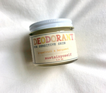 Sensitive Skin Deodorant- Sustain Yo Self