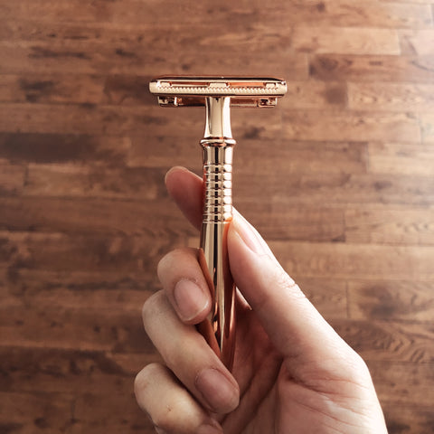 Rose Gold Safety Razors