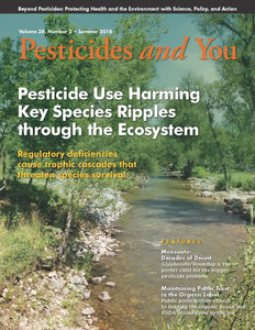 Pesticides and You Summer 2018 Volume 38, Number 2