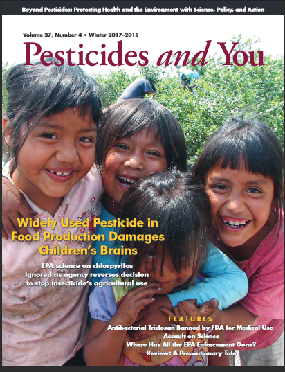 Pesticides and You Winter 2017-2018 Volume 37, Number 4