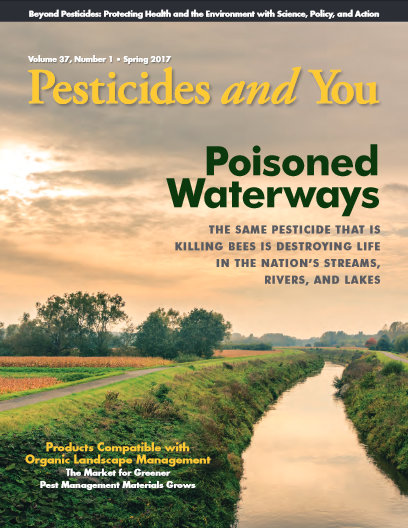 Pesticides and You Sping 2017 Volume 37, Number 1