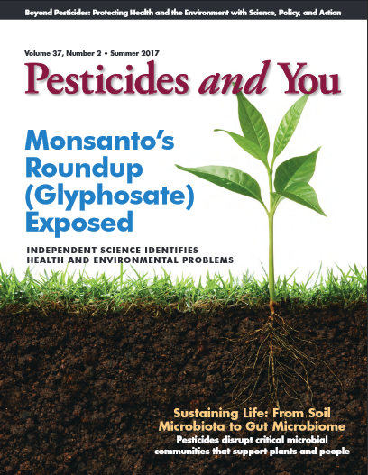 Pesticides and You Summer 2017 Volume 37, Number 2