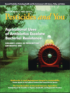 Pesticides and You Winter 2016-2017 Volume 36, Number 4