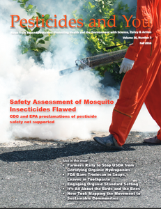 Pesticides and You Fall 2016 Volume 36, Number 3