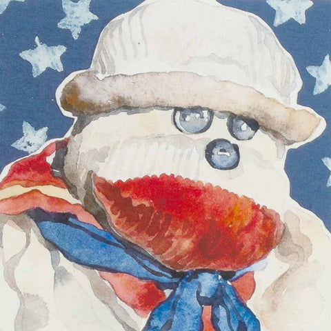 Vintage Sock Monkey: Sailor