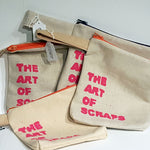 Load image into Gallery viewer, Ashleen Castillo: The Art of Scraps, zipper bags