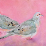 Load image into Gallery viewer, February Mourning Doves, blank greeting card