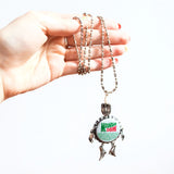 Bottlecap Figure Necklaces