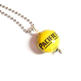 Double-Sided Sphere Bottlecap Necklaces