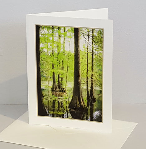 Peaceful Reflections: photo card by Shelly