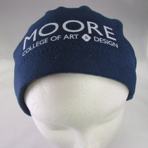 Fleece Beanie with Moore logo