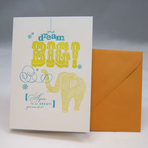 Congratulations and Best Wishes: Letterpress Cards