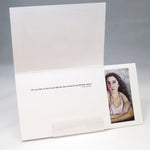 Load image into Gallery viewer, Sisters Head on Shoulders, fine art greeting card