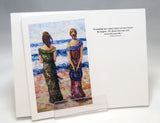 Ladies Dresses: Fine Art Greeting Card by Stephanie DiMuzio