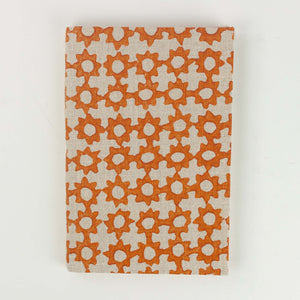 Terracotta Collection Repurposed Fabric Note Pads Small Size