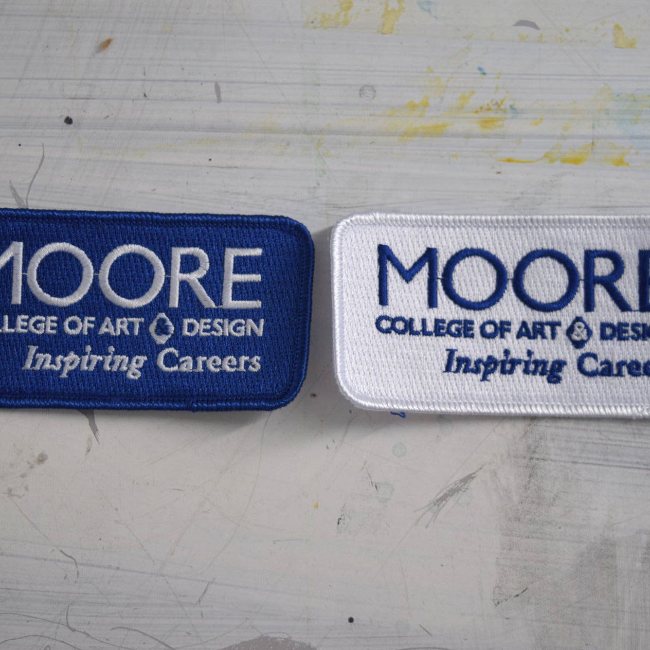 Moore Logo Sew-On Patches