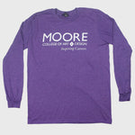 Load image into Gallery viewer, Purple Heather Long Sleeve Tee (Only SMALL and XL available)
