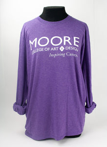 Purple Heather Long Sleeve Tee (Only SMALL and XL available)