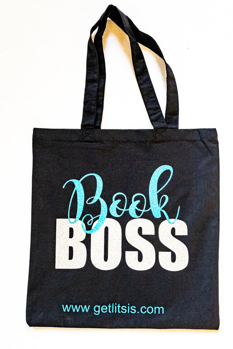 Book Boss Canvas Tote
