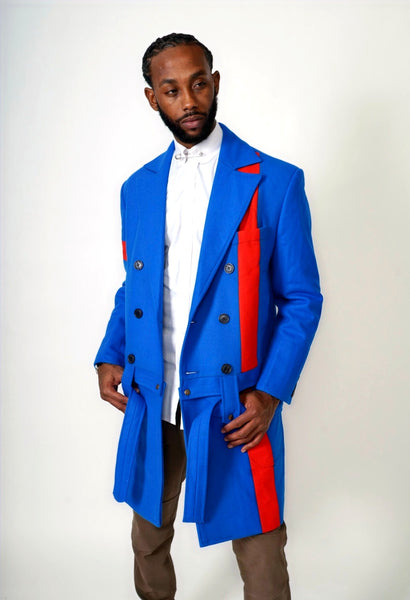 """Line it Up"" Detachable Overcoat"