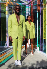 Peridot Notch lapel suit