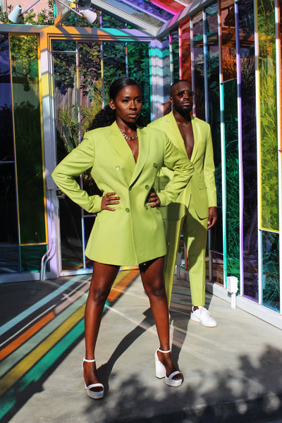 Peridot BlazeHER Dress