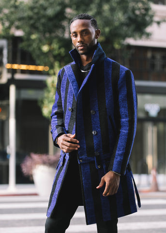 """Rivals of the Hill"" Detachable Overcoat"