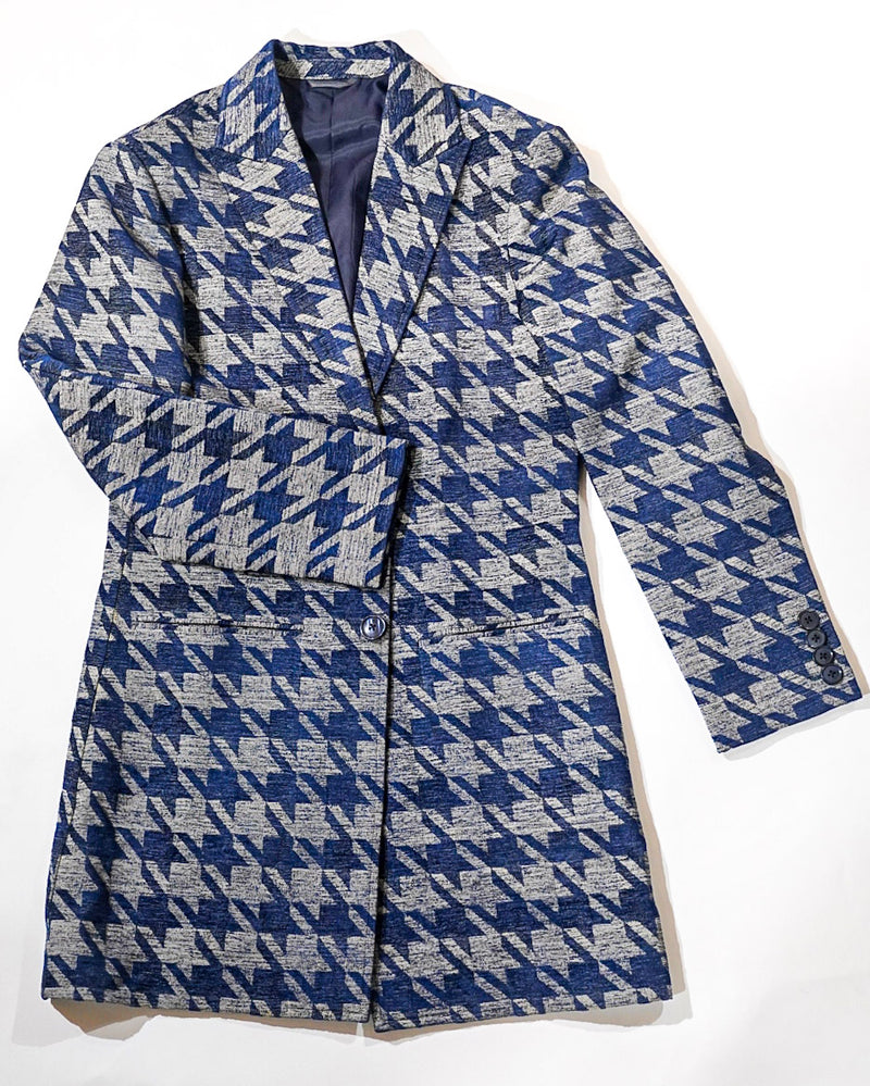 Brocade Houndstooth Suit